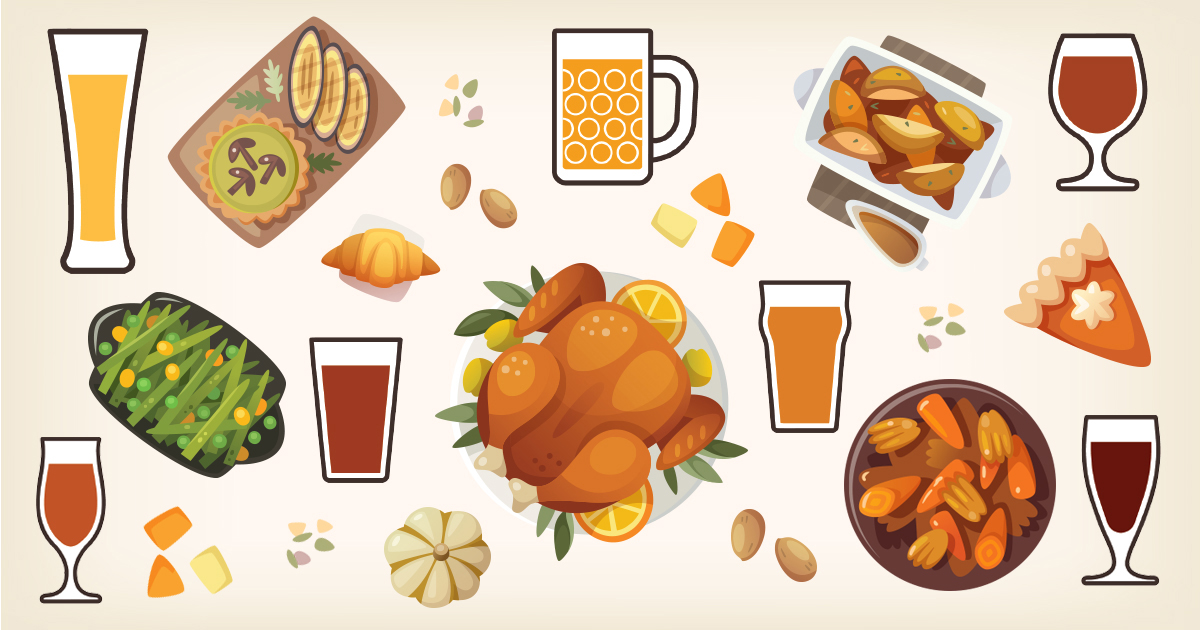 Beer Pairings for Your Thanksgiving Meal