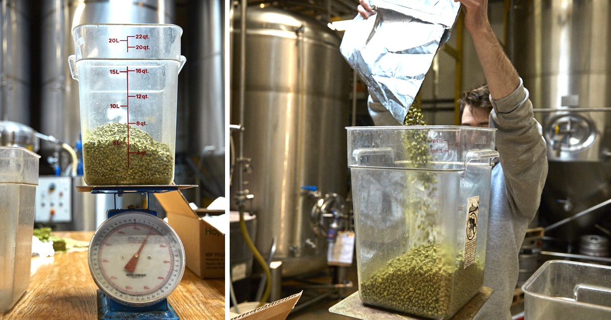 Blending Hops to Match Three Target Hops [Amarillo, Citra, and Simcoe]