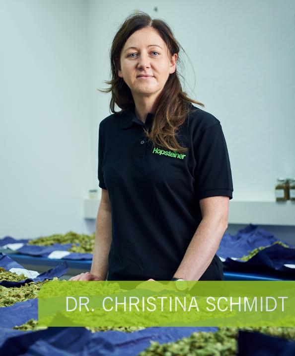 Christina Schmidt - Hopsteiner Webinare